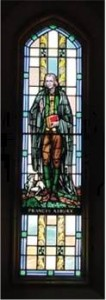 Stained Glass work of Francis Asbury