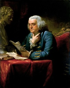 Benjamin Franklin  in London 1767 Francis Asbury  Circuits in England