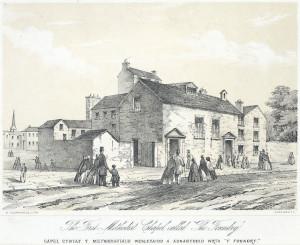 John Wesley  Foundry Church Image Public Domain