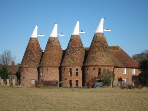 Oast House on the Francis Asbury  Pictorial Journey