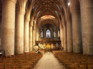 Tewkesbury Abbey Interior Image