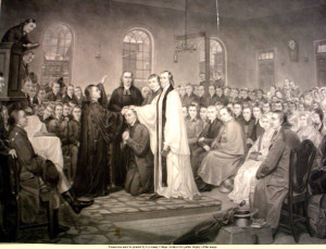 Francis Asbury 1784 Christmas Conference Ordination
