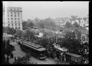 Francis Asbury Statue Dedication October 15, 1924