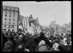 Francis Asbury Statue Dedication Washington D.C. October 15, 1924