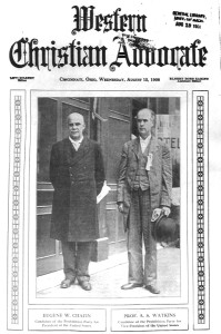 Prohibition Candidates Eugene W. Chafin Pres. and Professor A.S. Watkins VP