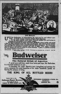 Budweiser and John Hancock